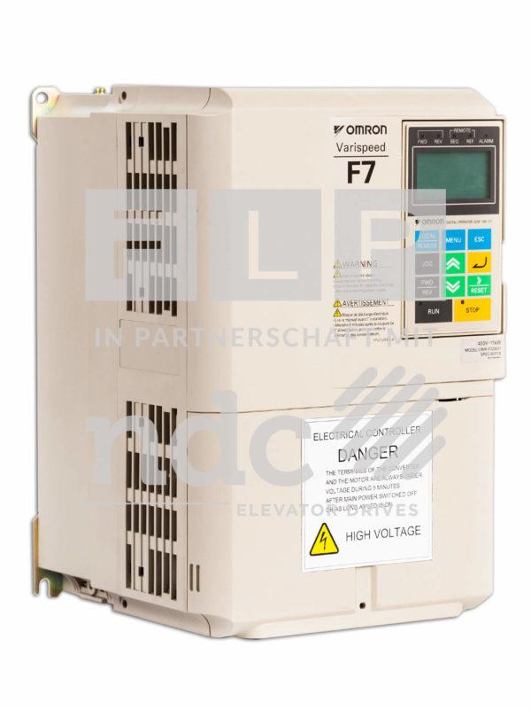 Frequenzumrichter für Aufzüge Omron F7