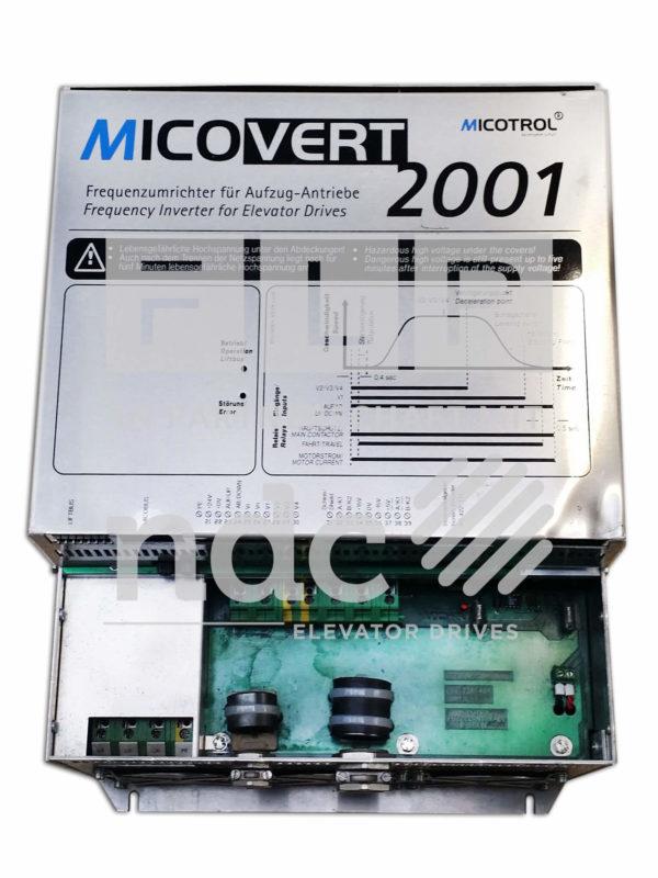 Frequenzumrichter für Aufzüge Micotrol Micovert 2001