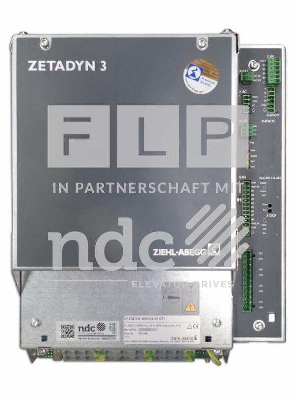 Frequenzumrichter für Aufzug Ziehl Abegg Zetadyn 3